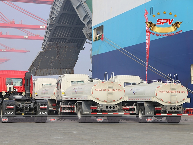 Water Bowser Photo 2 - 50 units of water tankers will be loaded onto the vessel soon