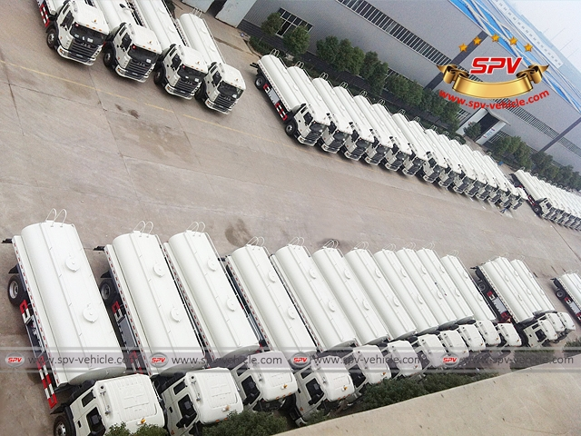 First 50 units of water bowsers to Venezuela in Nov, 2014