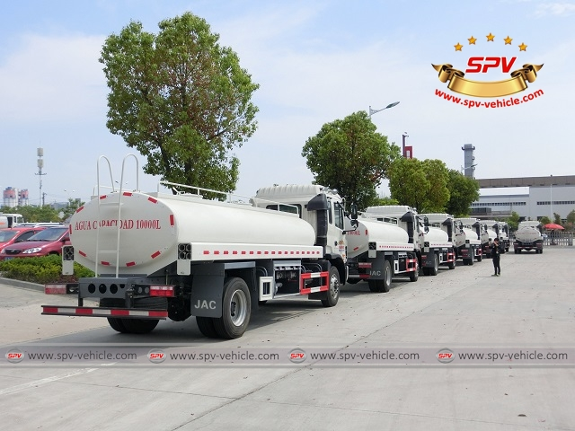 Third shipment of 100 units of water bowsers to Venezuela