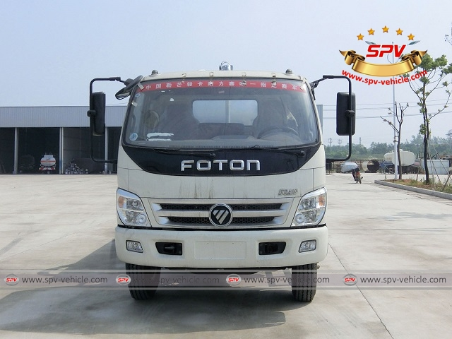One more liquid waste disposal truck Foton (10,000 liters) shipping to Ethiopia 1b