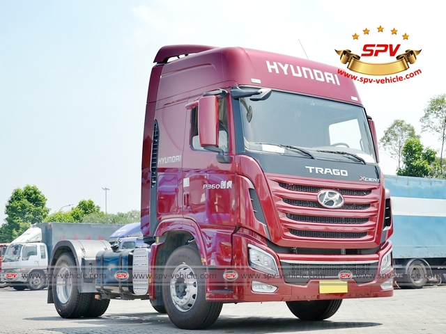 Front side view of HYUNDAI Prime Mover