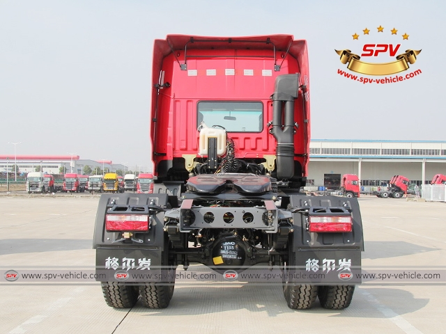 Back view of JAC Towing Truc (300HP)