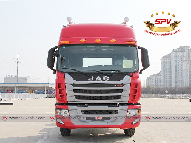 Front view of JAC Towing Truc (300HP)