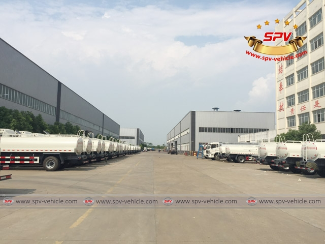 5th shipment of 50 units of JAC Water Bowsers to Venezuela -3