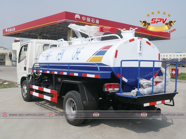Septic Tank Truck-Dongfeng-LBS
