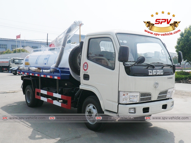 Septic Tank Truck-Dongfeng-RFS