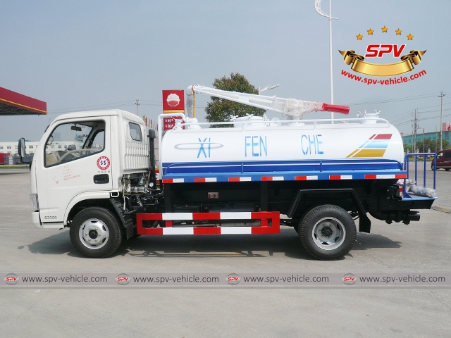 Septic Tank Truck-Dongfeng-S