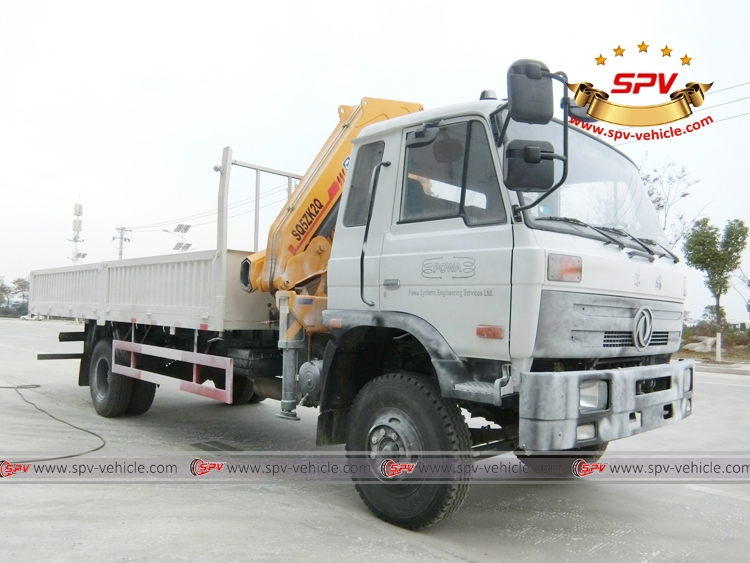 5 Ton Self loader truck Dongfeng - Waxed RF