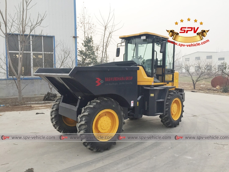 Mini Dumper ( 5 Ton) Shipped to Bangladesh