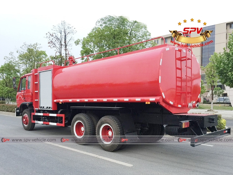 Fire Water Bowser Dongfeng 3 axle - LB