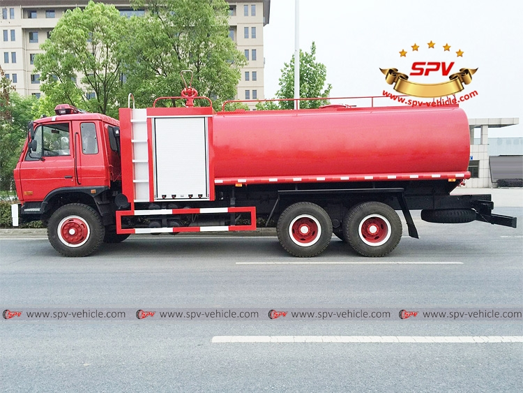 Fire Water Bowser Dongfeng 3 axle - LS