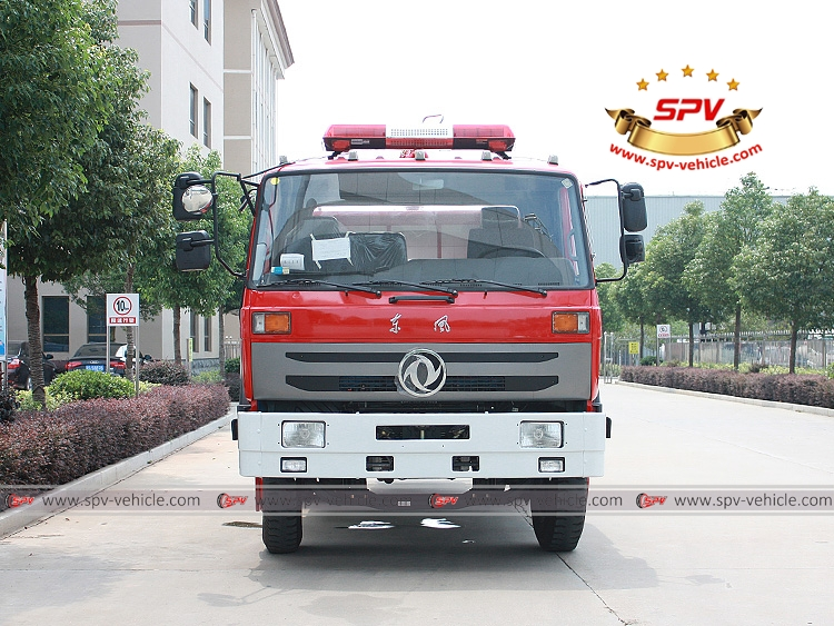 6,000 Litres Fire Water Tank Truck Dongfeng-F