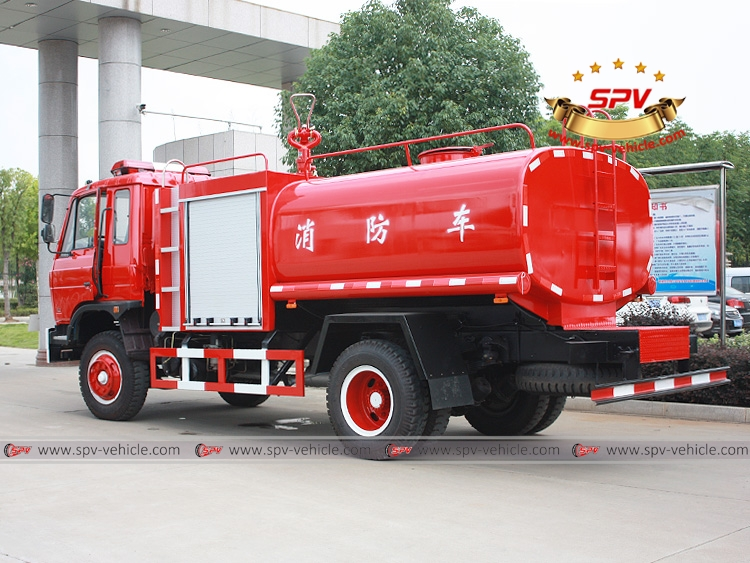 6,000 Litres Fire Water Tank Truck Dongfeng-LB