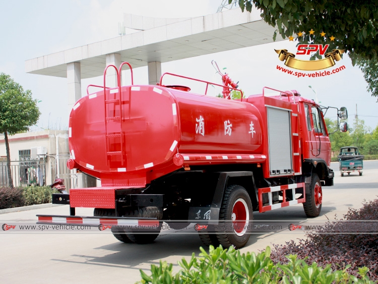 6,000 Litres Fire Water Tank Truck Dongfeng-RB