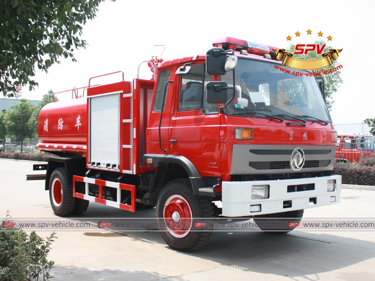 6,000 Litres Fire Water Tank Truck Dongfeng-RF
