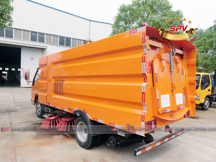 Road Cleaning Truck Forland-LB