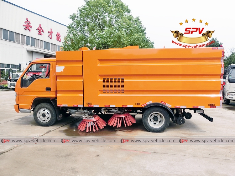 Road Cleaning Truck Forland-LS