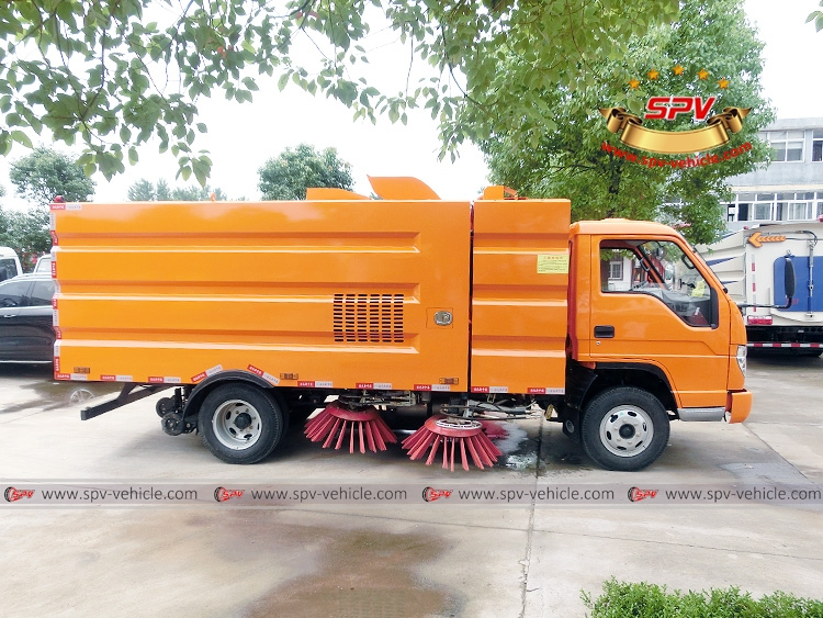 Road Cleaning Truck Forland-RS