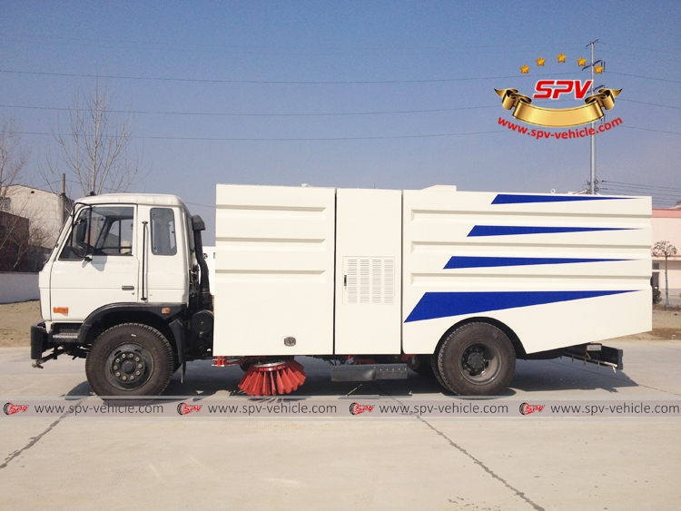 Road Sweeper Truck Dongfeng-LS