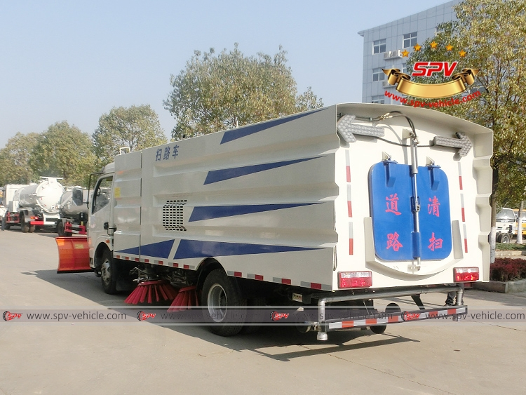 Road Sweeper with Snowplow Dongfeng-LB