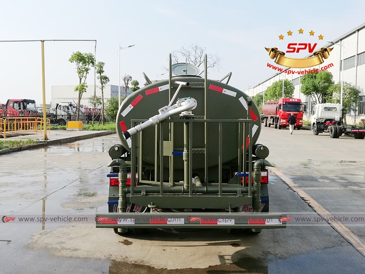 4,000 Litres Water Spraying Truck JAC-B