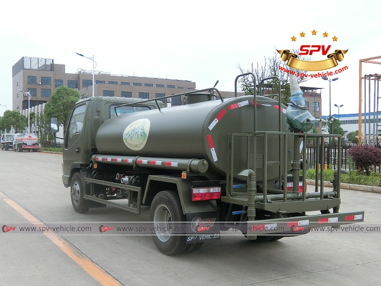 4,000 Litres Water Spraying Truck JAC-LB