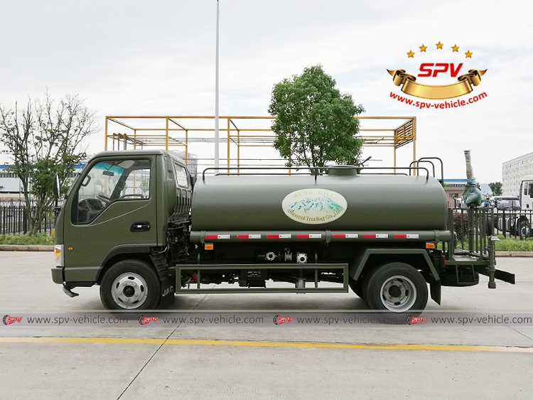 4,000 Litres Water Spraying Truck JAC-LS