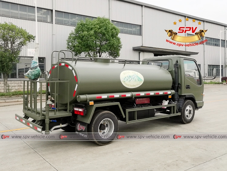 4,000 Litres Water Spraying Truck JAC-RB