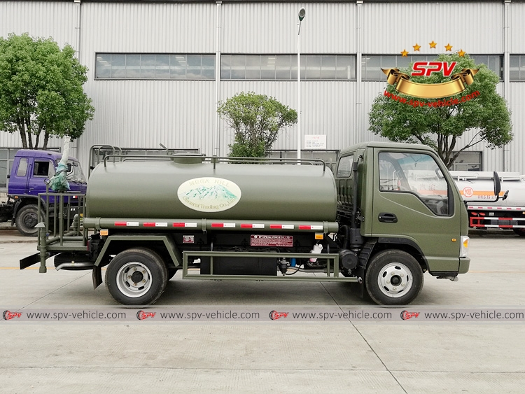 4,000 Litres Water Spraying Truck JAC-RS