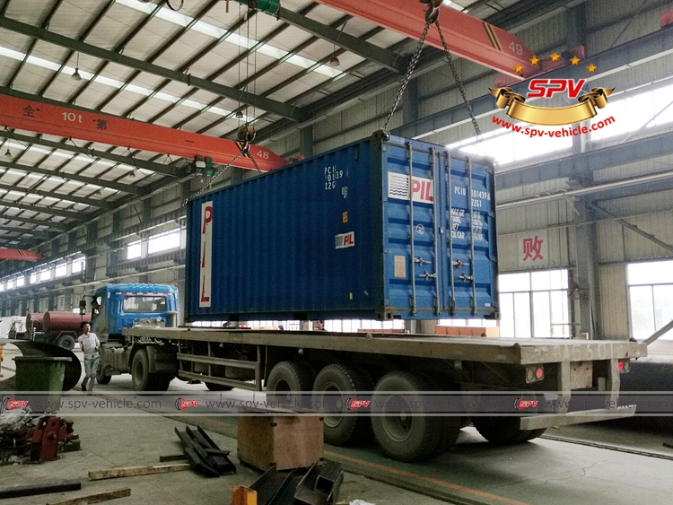 4,000 Litres Water Spraying Truck JAC-Shipped by Container