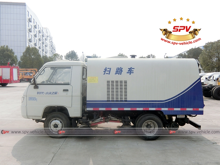 Mini Road Sweeper Truck Forland-LS