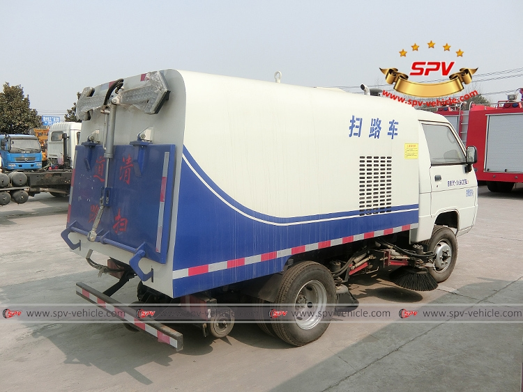 Mini Road Sweeper Truck Forland-RB