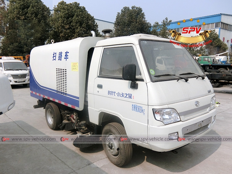 Mini Road Sweeper Truck Forland-RF