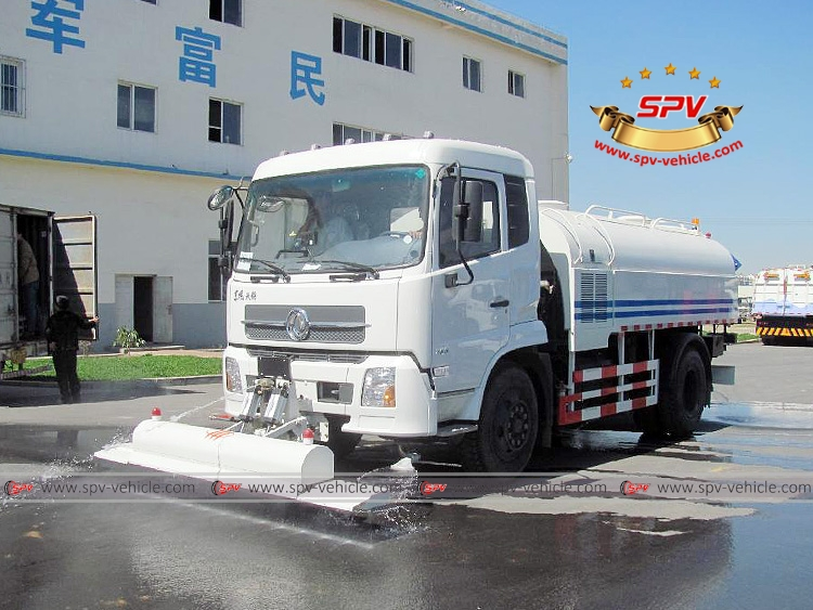Multi-function Water Jetting Truck Dongfeng Kingrun-LF