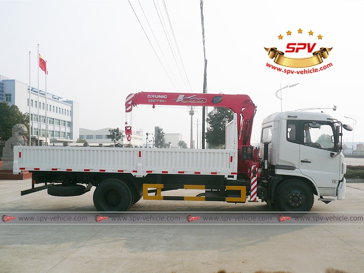 Truck Mounted Crane Dongfeng - RS