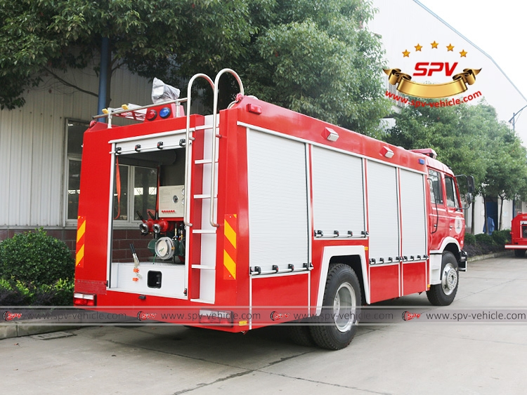 Fire Fighting Truck Dongfeng(RHD)-RB