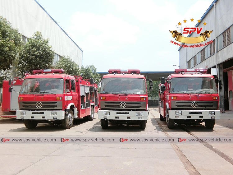 3 units of Dongfeng fire fighting truck - F