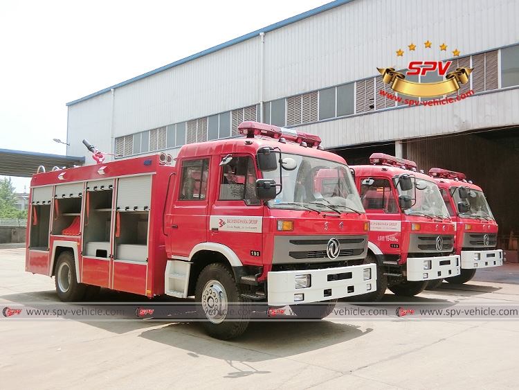 3 units of Dongfeng fire fighting truck - RF