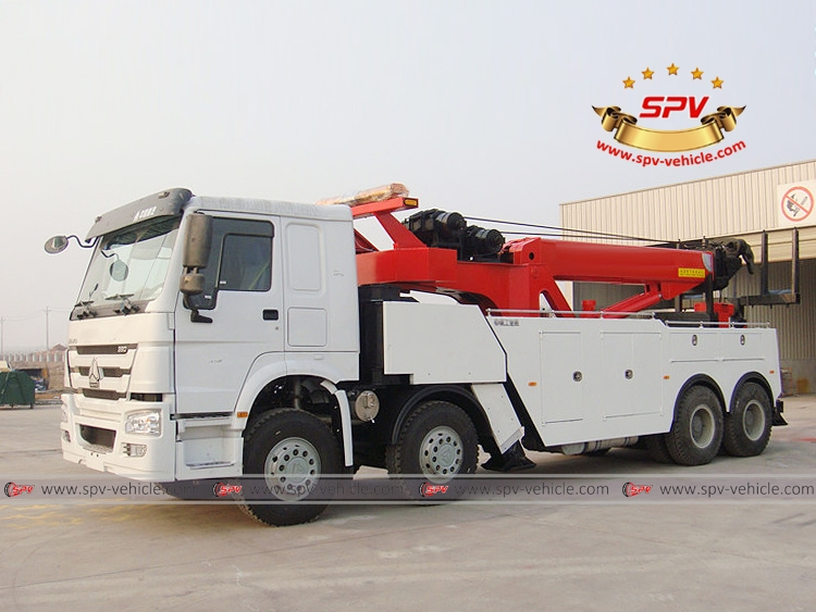 Heavy Duty Road Wrecker Sinotruk - LF