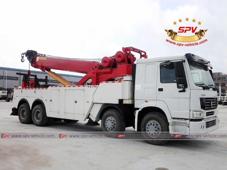 Heavy Duty Road Wrecker Sinotruk - RF -1