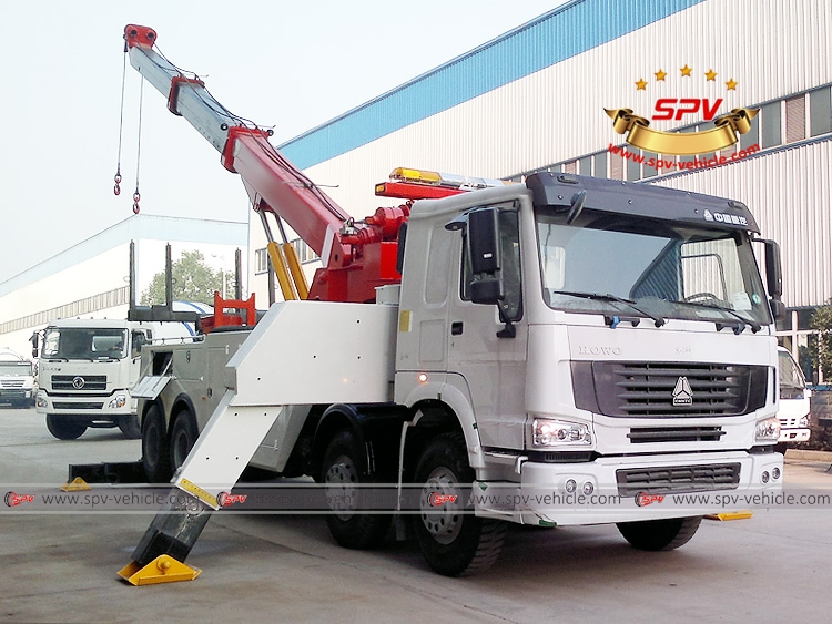 Heavy Duty Road Wrecker Sinotruk - RF