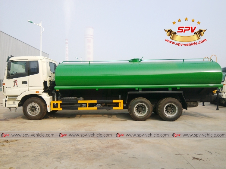20,000 Litres Foton Water Tank Truck - S