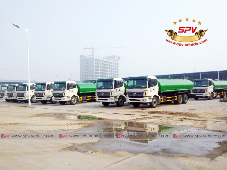 20,000 Litres Foton Water Tank Truck -1
