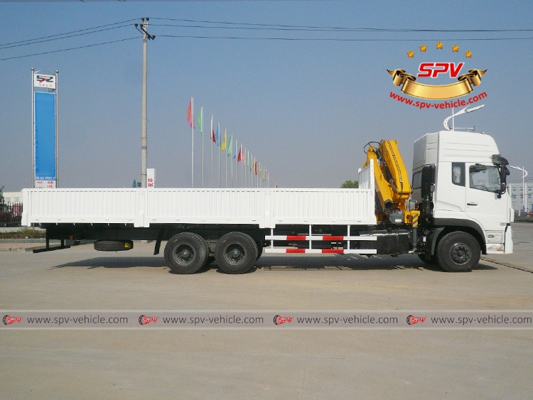 Articulated Crane Truck Dongfeng-RS