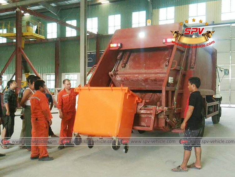 Lifting device test 01