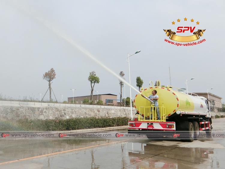 20,000 Litres Water Tank Truck ISUZU-Water Cannon
