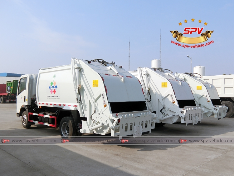 Garbage Compactor Truck - HOWO - LB