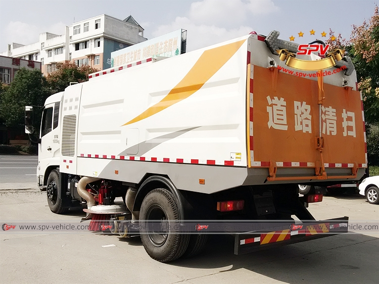 Vacuum Sweeper Truck - Dongfeng - LB