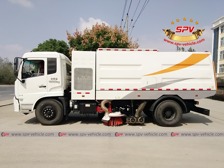 Vacuum Sweeper Truck - Dongfeng - LS