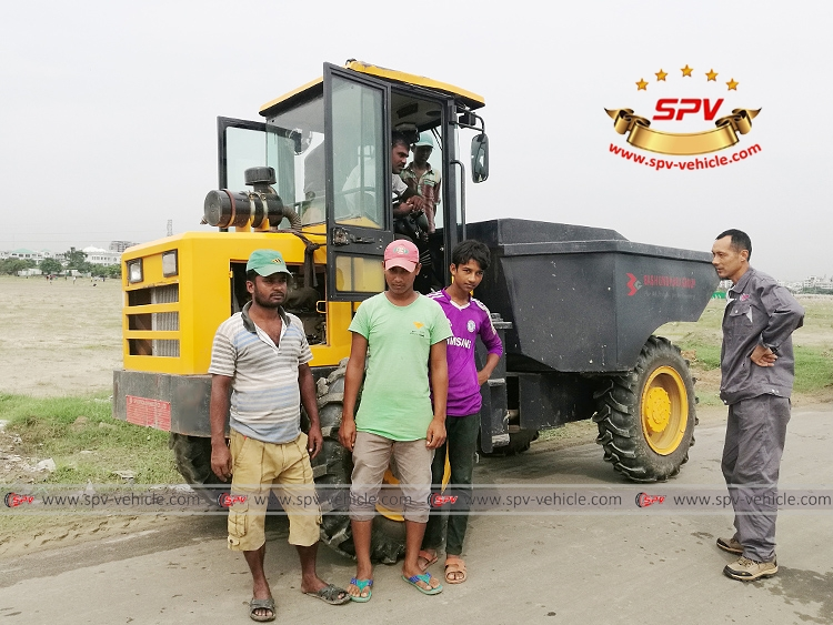 SPV Minidumper using in Bangladesh -1